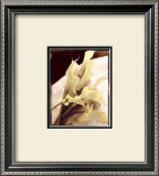Calla Lilies Detail Print by Rosanne Olson