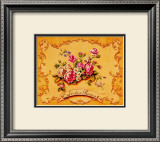 Cafe des Roses Print by Catherine Jones