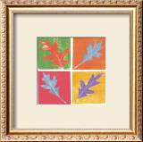 Leaf Impressions I Print by Eileen Crowell