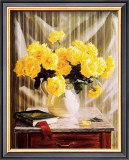 Yellow Roses Art by Robin Anderson