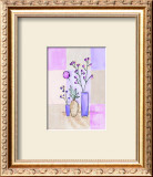 Floral with Modern Vases Prints by Josephine French