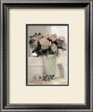 Vintage Flowers IV, Floral Vase Posters by Sharyn Sakimoto