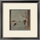 Umber Leaves Prints by Linda Yoshizawa