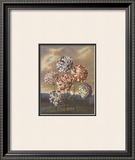 Group of Carnations Art by Dr. Robert J. Thornton