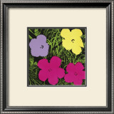 Flowers, c.1970 (1 Purple, c.1 Yellow, 2 Pink) Prints by Andy Warhol