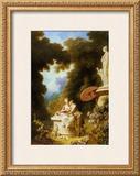 L'Amour-Amitie Prints by Jean-Honoré Fragonard