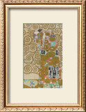 Fulfillment, Stoclet Frieze, c.1909 Print by Gustav Klimt