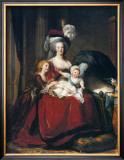 Marie-Antoinette et Ses Enfants, 1787 Poster by Elisabeth Louise Vigee-LeBrun