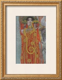 Hygieaia (detail) Prints by Gustav Klimt