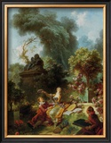 L'Amant Couronne Prints by Jean-Honoré Fragonard