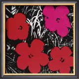 Flowers, c.1964 (Red and Pink) Print by Andy Warhol