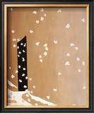 Black Door with Snow Posters by Georgia O'Keeffe