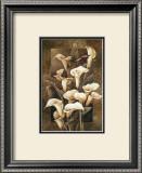Golden Calla Lilies Art by Linda Thompson