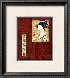 Geisha II Art by Patricia Quintero-Pinto