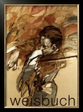 Le Violoniste Poster by Claude Weisbuch