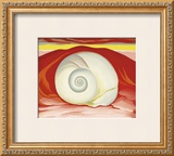 Red Hills with White Shell, c.1938 Prints by Georgia O'Keeffe