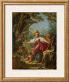 Le Collin-Maillard Prints by Jean-Honoré Fragonard