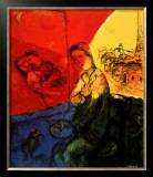 Peintre Print by Marc Chagall