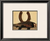 Turkey Feather with Horseshoe Prints by Georgia O'Keeffe