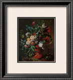 Flowers in an Urn Prints by Jan van Huysum