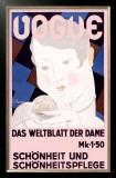 Vouge Framed Giclee Print by Georges Lepape
