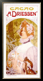 Cacao A. Driessen Framed Giclee Print by Privat Livemont