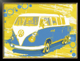 Vintage VW Bus Prints by Michael Cheung