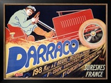 Darracq Framed Giclee Print by Walter Thor