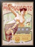 La Pates Ozon Marguerite Framed Giclee Print by  Simonetti