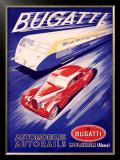 Bugatti Framed Giclee Print by R. Géri
