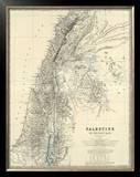 Palestine, c.1861 Framed Giclee Print by Alexander Keith Johnston