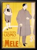 E&A Mele, Paletots Per Uomo Framed Giclee Print