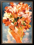 Monte Carlo Framed Giclee Print by Jean-Gabriel Domergue