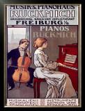 Ruckmich Musik Framed Giclee Print