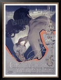 Cesare Urtis, Electric Framed Giclee Print by Adolfo Hohenstein