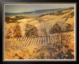 Autumn Vineyard Prints by Silvia Rutledge