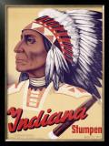 Indiana Stumpen Framed Giclee Print by Johannes Handschin