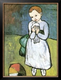 Kind Mit Taube, 1901 Posters by Pablo Picasso