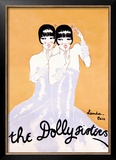 Dolly Sisters Framed Giclee Print by Julien Landa