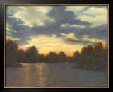 Evening Glow Art by Mary Jean Weber