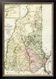 New Hampshire, c.1796 Framed Giclee Print by Daniel Friedrich Sotzmann