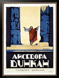 Isadora Duncan Framed Giclee Print by Alexander Alexeieff