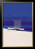 White Boats Prints by Paul Evans