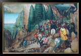 The Conversion of St.Paulus Prints by Pieter Bruegel the Elder