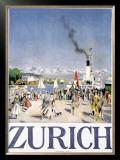 Zurich Framed Giclee Print