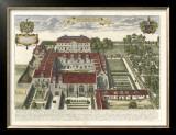 Collegium Street Trinitatis Posters by  Loggan