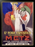2nd Foire Exposition, Metz Framed Giclee Print by J. J. Stall