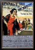 Neuva Plaza de Toros, San Sebastian Framed Giclee Print by Carlos Ruano-Llopis