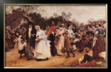 Wedding Procession Poster by Samuel Luke Fildes