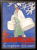 Au Grand Passage Framed Giclee Print by Emil Cardinaux